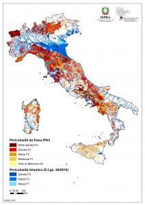 Mappa rischi naturali Italia - Giuriolo e Pandolfo